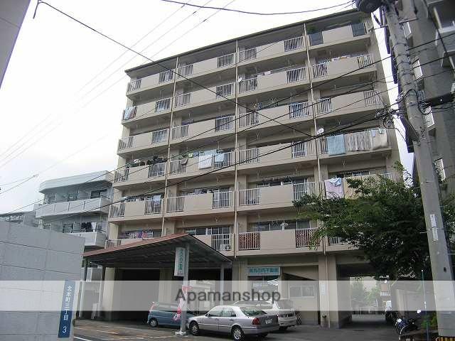 高知県高知市、菜園場町駅徒歩11分の築28年 7階建の賃貸マンション
