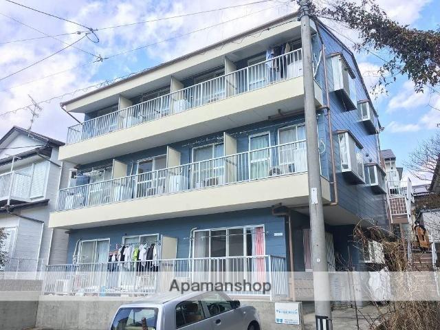 高知県高知市、高知商業前駅徒歩8分の築28年 3階建の賃貸アパート
