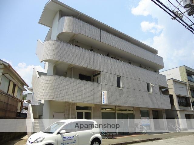 高知県高知市、梅の辻駅徒歩4分の築25年 4階建の賃貸マンション