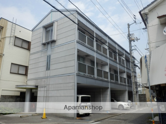 高知県高知市、デンテツターミナルビル前駅徒歩3分の築19年 5階建の賃貸マンション