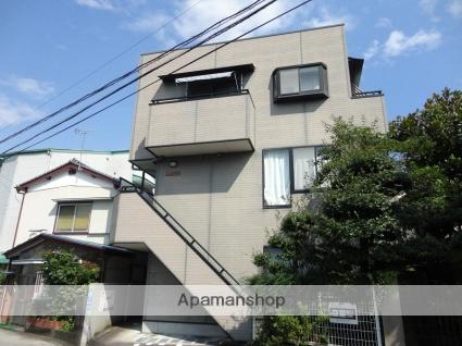 高知県高知市、桟橋通一丁目駅徒歩6分の築17年 3階建の賃貸アパート