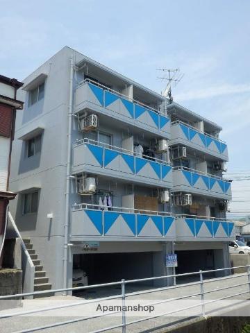 高知県高知市、領石通駅徒歩11分の築25年 4階建の賃貸マンション