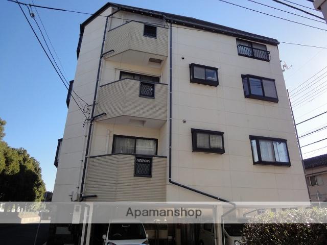 高知県高知市、入明駅徒歩8分の築20年 4階建の賃貸アパート