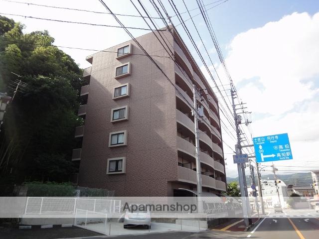 高知県高知市、円行寺口駅徒歩5分の築16年 7階建の賃貸マンション