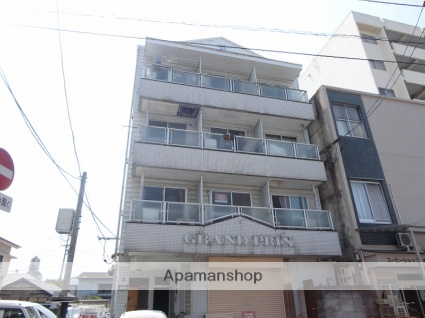 高知県高知市、入明駅徒歩5分の築30年 4階建の賃貸アパート