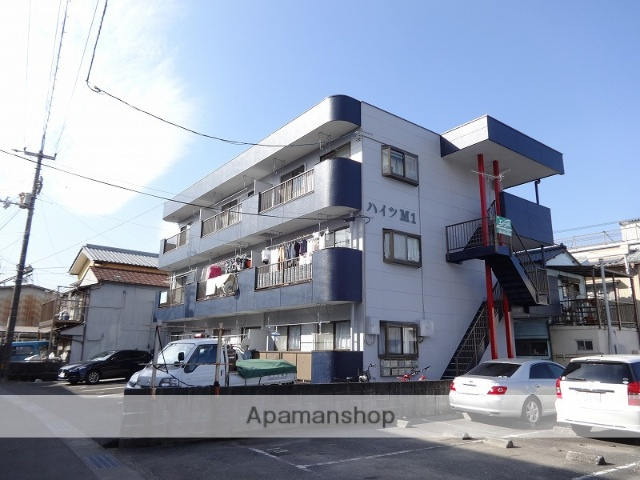 高知県高知市、旭町三丁目駅徒歩6分の築24年 3階建の賃貸マンション