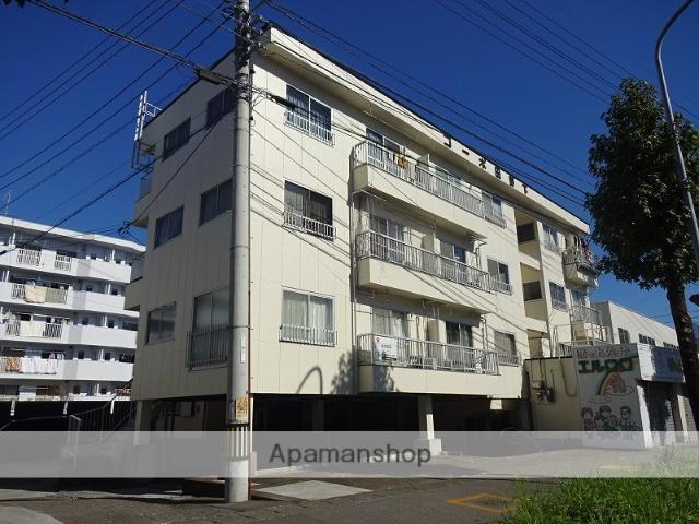 高知県高知市、旭駅前通駅徒歩18分の築34年 4階建の賃貸アパート