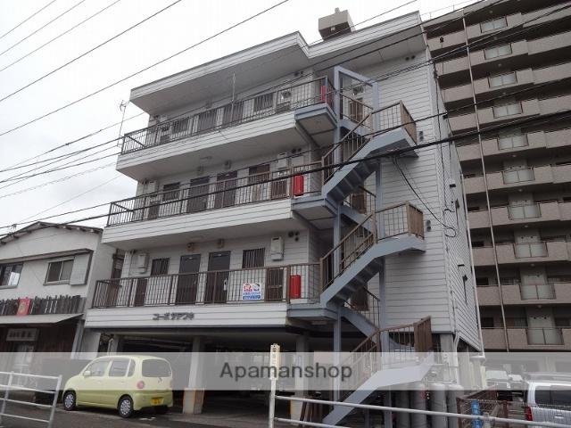 高知県高知市、田辺島通駅徒歩5分の築29年 4階建の賃貸アパート