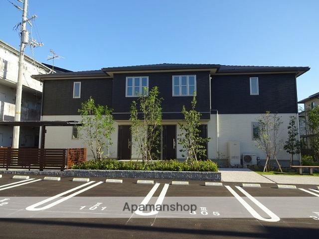高知県高知市、鴨部駅徒歩15分の築2年 2階建の賃貸アパート