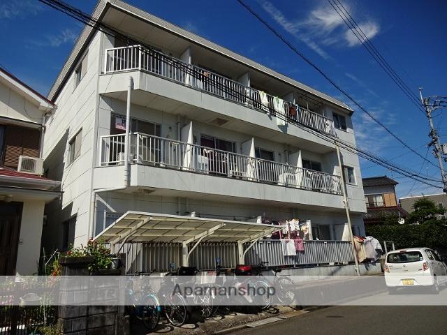 高知県高知市、上町二丁目駅徒歩18分の築30年 3階建の賃貸アパート