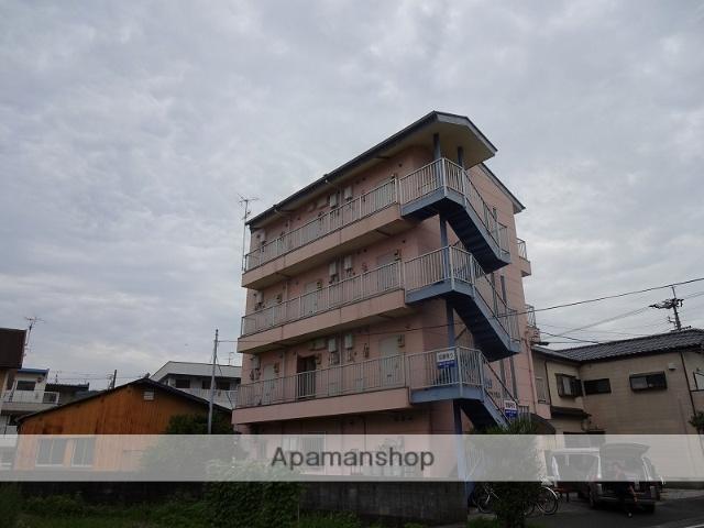 高知県高知市、鴨部駅徒歩7分の築20年 4階建の賃貸アパート