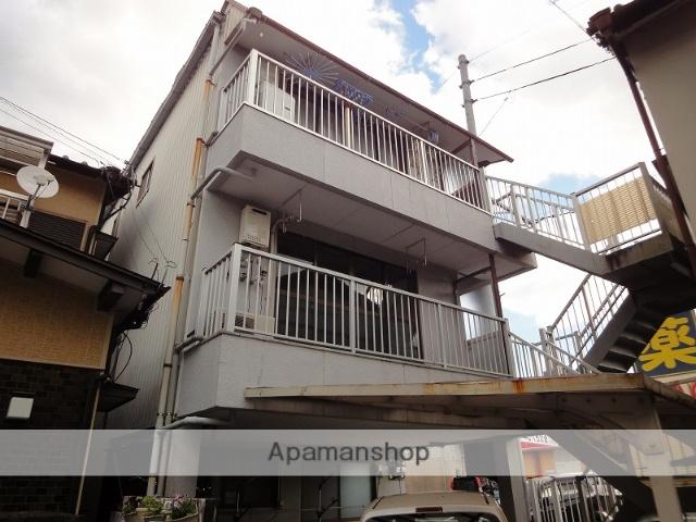 高知県高知市、東新木駅徒歩10分の築32年 3階建の賃貸アパート