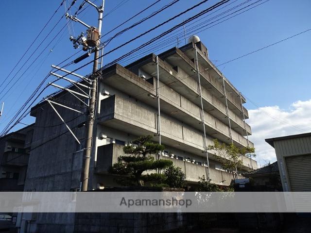 高知県高知市、鴨部駅徒歩16分の築27年 6階建の賃貸マンション
