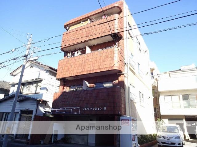 高知県高知市、枡形駅徒歩4分の築35年 4階建の賃貸マンション