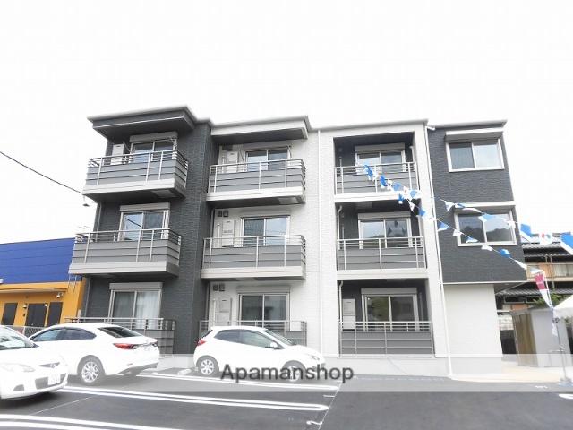 高知県高知市、グランド通駅徒歩15分の新築 3階建の賃貸アパート