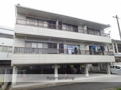 高知県高知市、鴨部駅徒歩8分の築25年 3階建の賃貸アパート