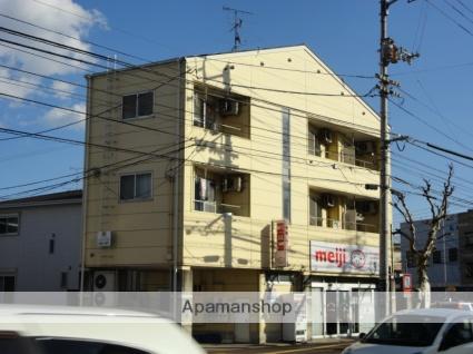 高知県高知市、枡形駅徒歩8分の築27年 3階建の賃貸アパート