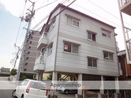 高知県高知市、県庁前駅徒歩12分の築25年 3階建の賃貸マンション