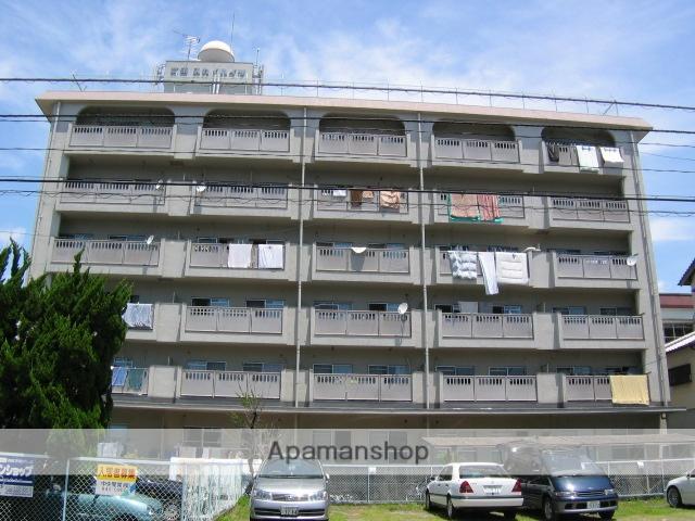 高知県高知市、県立美術館通駅徒歩6分の築31年 6階建の賃貸マンション