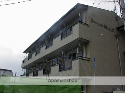 高知県高知市、領石通駅徒歩7分の築20年 3階建の賃貸アパート