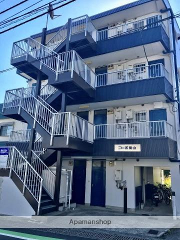高知県高知市、旭駅徒歩13分の築29年 4階建の賃貸マンション
