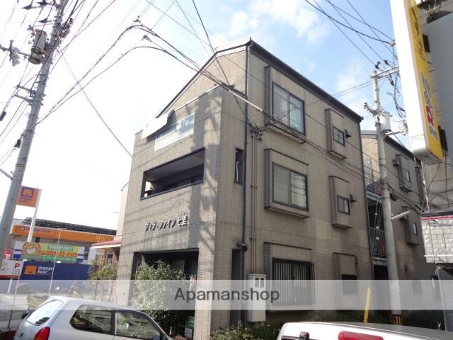 高知県高知市、桟橋通二丁目駅徒歩8分の築17年 3階建の賃貸アパート