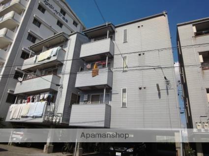 高知県高知市、桟橋通四丁目駅徒歩9分の築27年 5階建の賃貸アパート