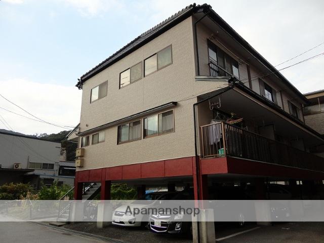 高知県高知市、薊野駅徒歩10分の築18年 3階建の賃貸アパート