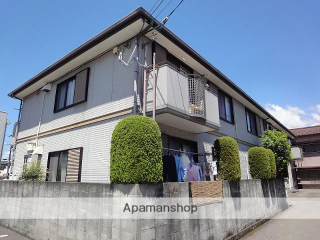 高知県高知市の築22年 2階建の賃貸アパート