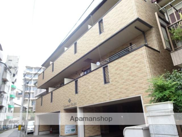 高知県高知市、デンテツターミナルビル前駅徒歩10分の築8年 3階建の賃貸マンション