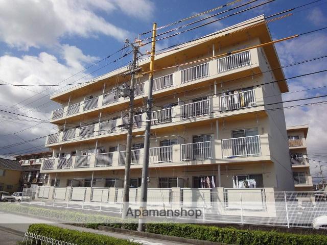 高知県高知市、桟橋通二丁目駅徒歩10分の築32年 4階建の賃貸マンション
