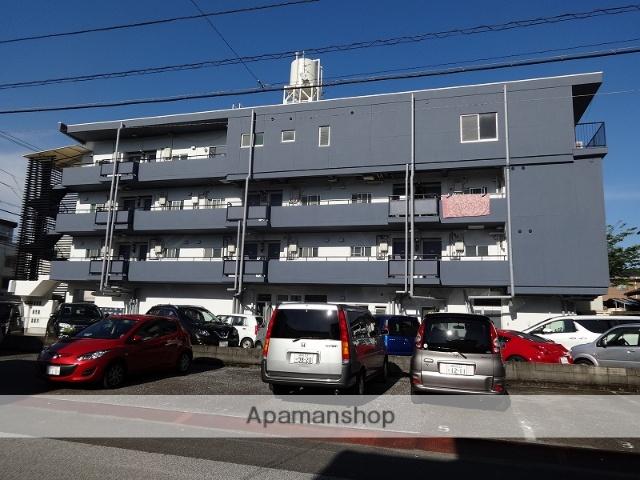 高知県高知市、枡形駅徒歩5分の築32年 4階建の賃貸アパート