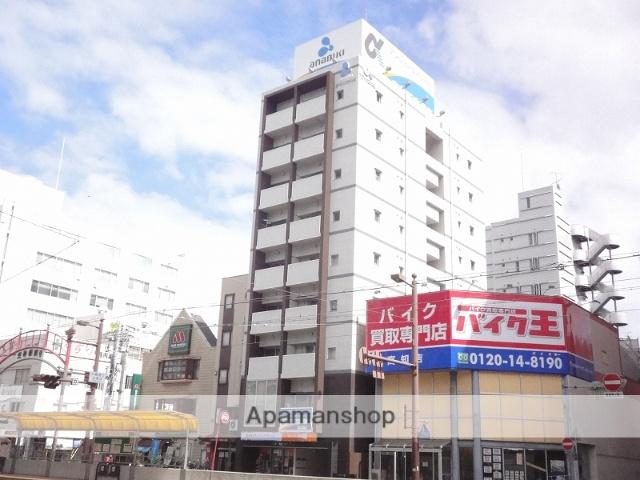 高知県高知市、堀詰駅徒歩5分の築9年 9階建の賃貸マンション