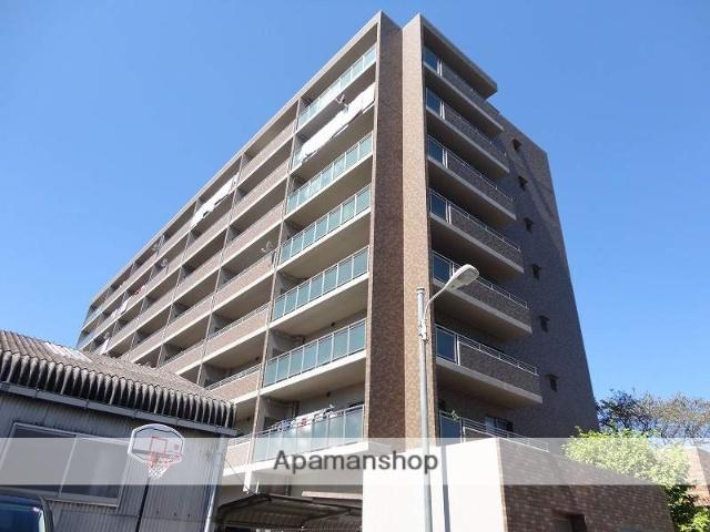 高知県高知市、デンテツターミナルビル前駅徒歩8分の築12年 8階建の賃貸マンション
