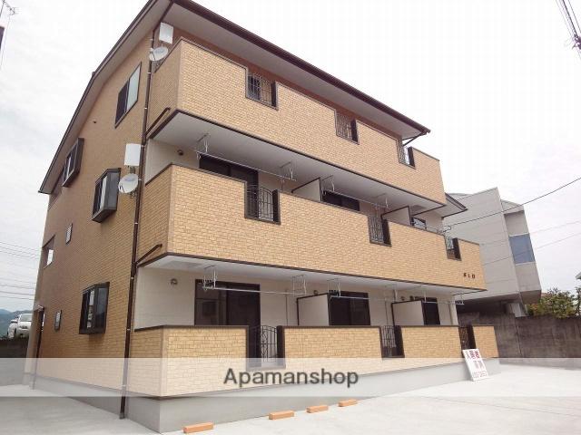 高知県高知市、県庁前駅徒歩13分の築5年 2階建の賃貸アパート