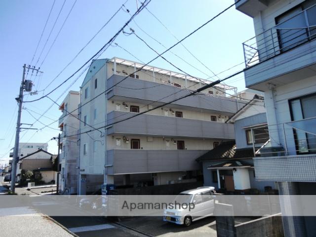 高知県高知市、菜園場町駅徒歩8分の築14年 4階建の賃貸マンション