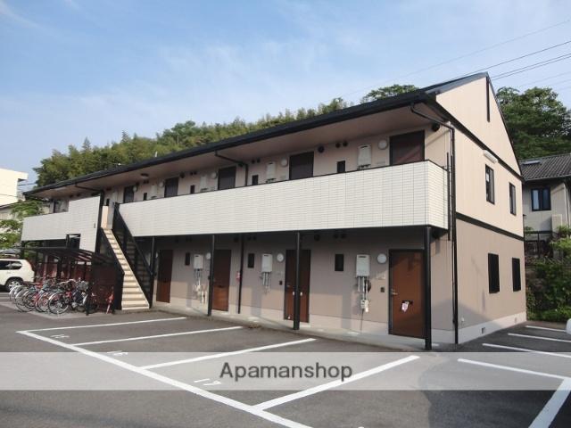 高知県高知市、上町一丁目駅徒歩16分の築20年 2階建の賃貸アパート