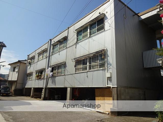 高知県高知市、上町四丁目駅徒歩17分の築39年 3階建の賃貸マンション
