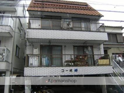 高知県高知市、桟橋通三丁目駅徒歩11分の築30年 3階建の賃貸アパート