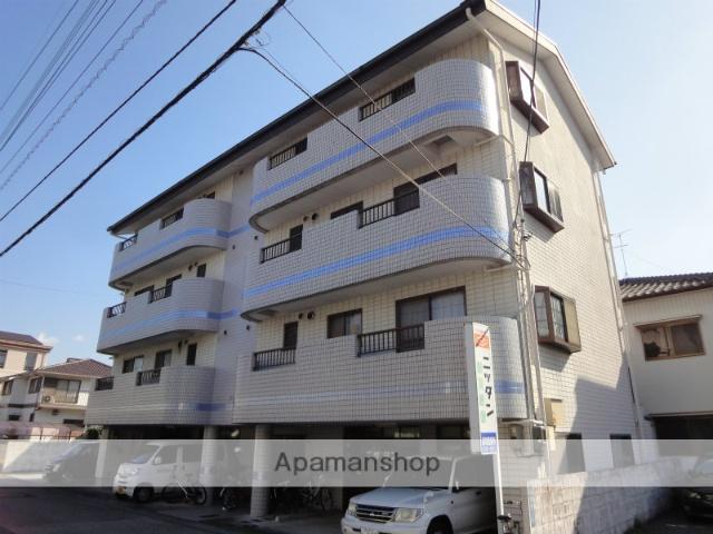 高知県高知市、桟橋通二丁目駅徒歩10分の築25年 4階建の賃貸マンション