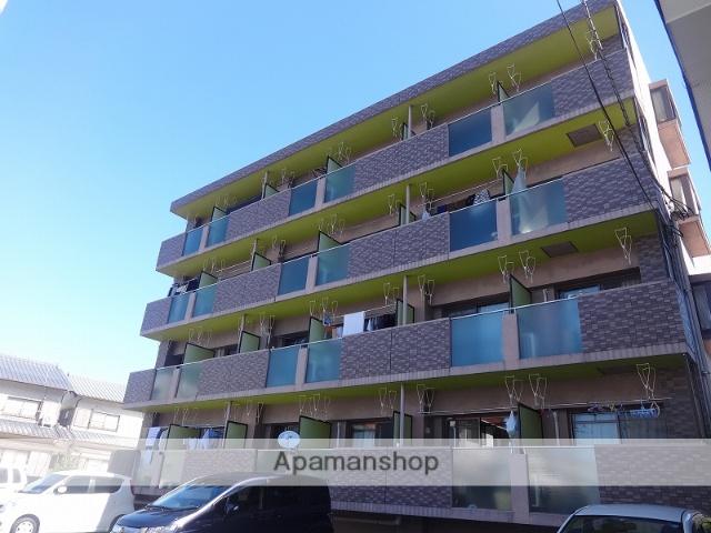高知県高知市、グランド通駅徒歩15分の築22年 4階建の賃貸マンション