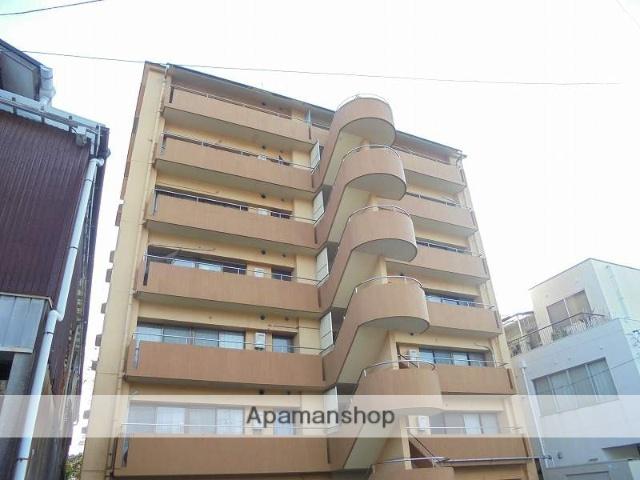 高知県高知市、高知駅徒歩13分の築33年 7階建の賃貸マンション