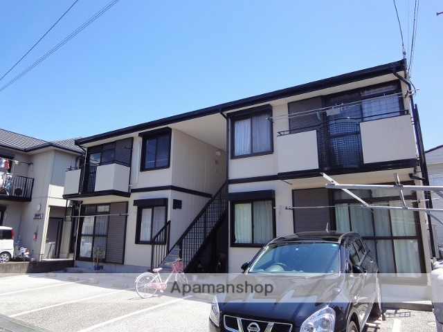 高知県高知市の築23年 2階建の賃貸アパート