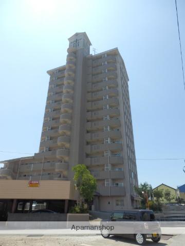 高知県高知市、舟戸駅徒歩10分の築21年 14階建の賃貸マンション