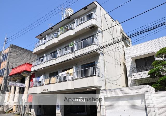 高知県高知市、堀詰駅徒歩10分の築32年 4階建の賃貸マンション