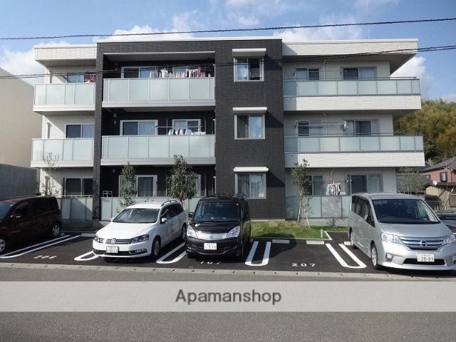 高知県高知市、入明駅徒歩14分の築2年 3階建の賃貸マンション