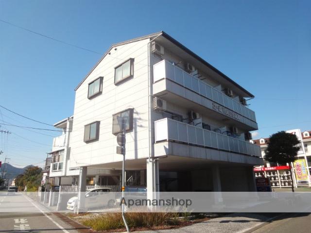 高知県高知市、桟橋通二丁目駅徒歩14分の築22年 3階建の賃貸アパート