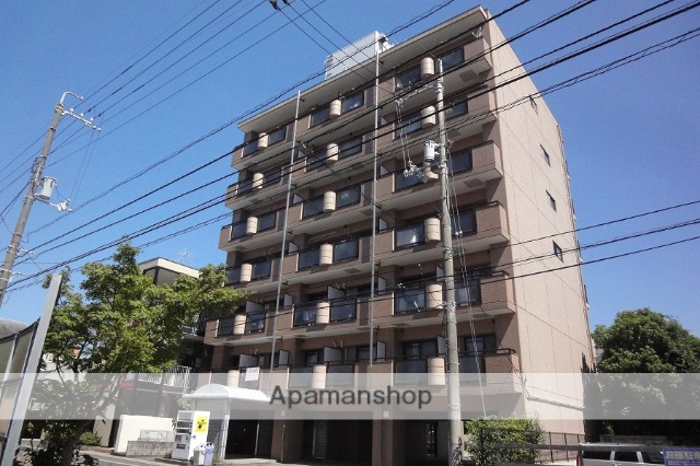 高知県高知市、グランド通駅徒歩6分の築26年 7階建の賃貸マンション