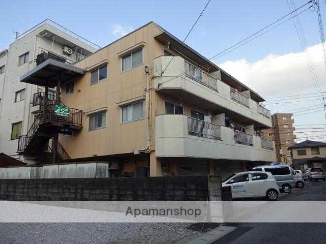 高知県高知市、入明駅徒歩18分の築30年 3階建の賃貸マンション