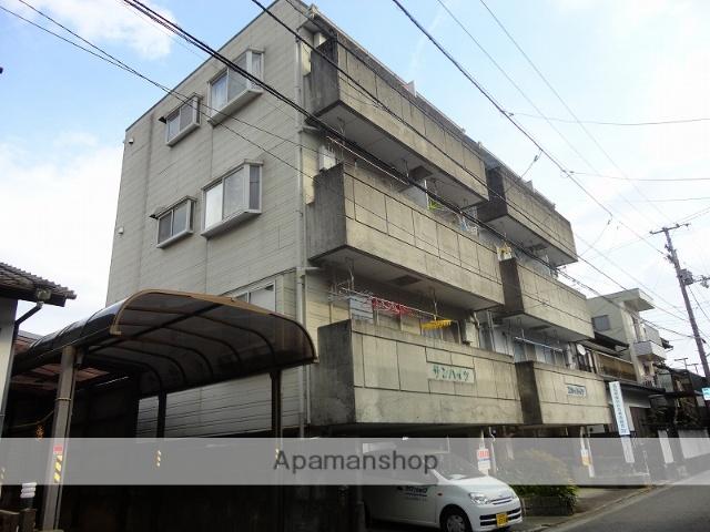 高知県高知市、知寄町三丁目駅徒歩8分の築33年 4階建の賃貸アパート